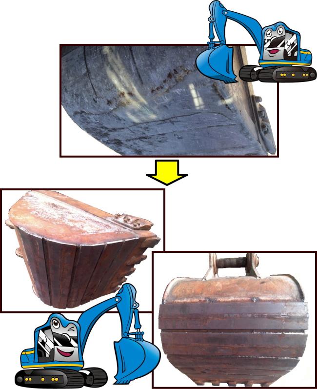 ゴムクローラー,バケット,建機部品